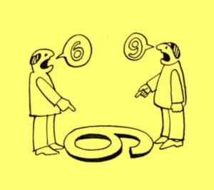 Kommunikations- und Weltanschauungsprobleme